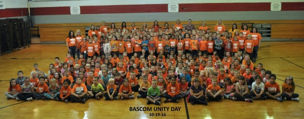 Bascom Elementary Unity Day 2016 Picture